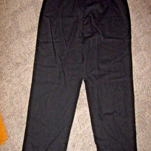 MICHELE Black No Pocket Dress Pants 16 New!